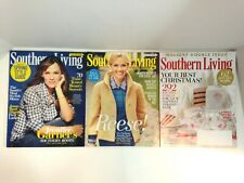 2015 Southern Living Magazines Garner Witherspoon Complete Year 12 Back Issues