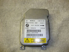 BMW E46 316i COMPACT AUTO 2002 AIRBAG ECU CONTROL MODULE UNIT