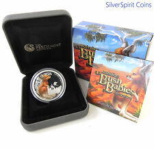 2010 BUSH BABIES KANGAROO Silver Proof Coin