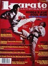3/86 KARATE ILLUSTRATED SONNY ONOWO KUK SOOL WON BLACK BELT KUNG FU MARTIAL ARTS