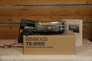 Kenwood TS-2000 HF/VHF transceiver unused in the box