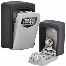 Home Money Key Hider Storage Box 4 Digit Security Secret Code Lock Wall Mounted