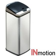 Inmotion 58L Stainless Steel Auto Automatic Sensor Kitchen Waste Dust Bin
