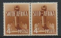 South Africa - 1941/6, 4d War Effort - Horizontal Pair - M/M - SG 92