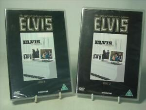 DeAgostini Elvis Presley ELVIS BY THE PRESLEYSTWO DISC DVD SET BOTH SEALED