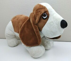 "Hush Puppies Russ Berrie Stuffed Plush Toy Puppy Dog 20"" Large"