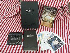 The Hobbit collectors box limited HB edition postcard Tolkien CD map complete