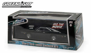 Greenlight 1/43 1970 Dodge Charger R/T Fast & Furious 86201 New