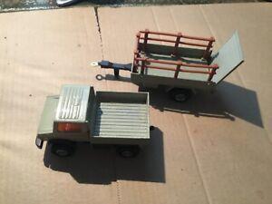 Matchbox super king, K-30/32 unimog and trailer
