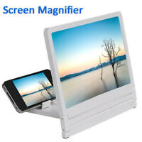 Excellent Viewing Expander 3 Times Mobile Phone Screen Magnifier Case Black