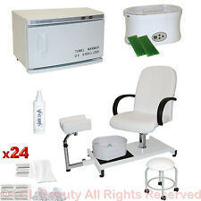 Pedicure Chair Hot Towel Warmer Sterilizer Paraffin Wax Salon Beauty Equipment