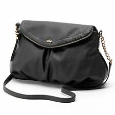 NEW Juicy Couture Traveler Flap Crossbody Bag ~BLACK~