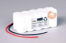 Akkupack 12V 1500mAh (1,5Ah) Notbeleuchtung Einzelbatterieleuchte Notlicht NEU