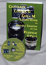 Contarex Leica M, Contax G Lenses Book to digital on the Fujifilm X-Pro 1 + DVD