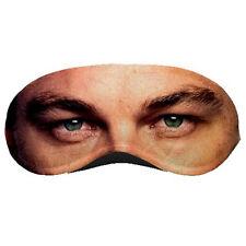 New Leonardo DiCaprio Celebrity Eye Printed Sleeping Mask / Eye Mask Rare!