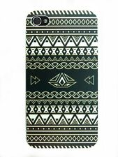 IPHONE Shell 4/5 Or 5C Pattern Aztec Black & White (Triangle Swag Man)
