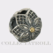 Authentic Trollbeads Silver & Gold Strawberries TrollBead 41818