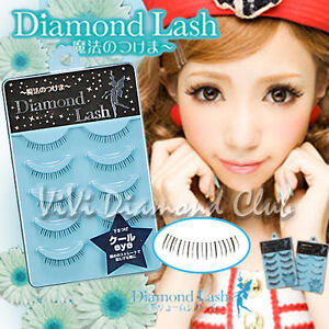 Diamond Lash False Eyelashes Volume Series N0.6 Cool Eyes 5 pairs