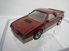 "RAR: Matchbox 1984 Dodge Daytona Turbo Z ""rot"", Matchboxgröße TOP!"