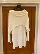 Gomez-Gracia 100% Silk Ivory Quirky Designer Dress Size UK 10