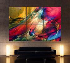 SPIRIT OF POP ART Leinwand Bild Bilder Abstrakt Kunstdruck Wandbild Mehrfarbig X