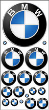 SCALE MODEL KIT WATERSLIDE DECALS BMW MANY SIZES 1:64 1:87 1:24 MORE