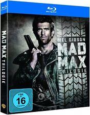 MAD MAX TRILOGIE (Mel Gibson, Tina Turner) 3 Blu-ray Discs NEU+OVP