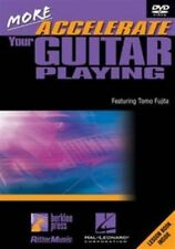 More Accelerate Your Guitar Playing 0884088095772 DVD Region 1