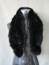 100% real rabbit fur scarf / fur collar /wrap/cape wonderful christmas gift