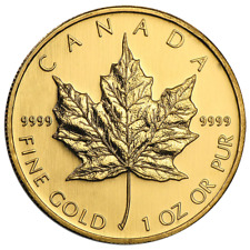2008 $50 Gold Canadian Maple Leaf .9999 1 oz Brilliant Uncirculated