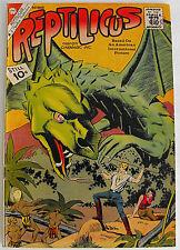 Reptilicus #2-Charlton Silver Age Classic-1961-VG 4.0