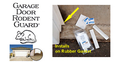 GARAGE DOOR RODENT GUARD KEEPS MICE AND SMALL RODENTS OUT OF YOUR GARAGE