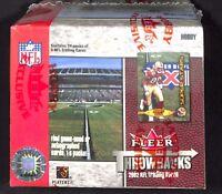 2002 Fleer Throwbacks Football Sealed Hobby Box