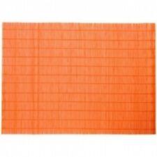 2Pz Tovagliette in Bamboo Arancioni 30x45 cm Verdemax 5655 Tovaglia Tavola nuovo