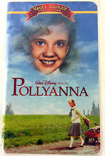 Pollyanna Vault Disney Collection VHS Movie 2002 Hayley Mills Clamshell Case