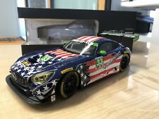Mercedes-AMG GT3, Riley Raceteam 4th July, 1:18 Modell, Norev