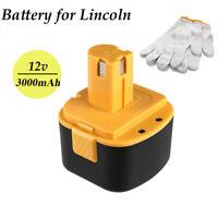 3.0Ah 12V Ni-MH battery for Lincoln 12 Volt Grease Gun 1201 1200 1240 1242 1244