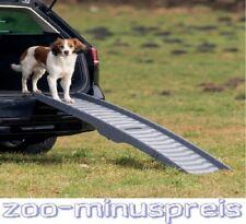 Hunderampe Klapp-Rampe Petwalk, 3-fach klappbar, 39x150 cm, bis 25kg Tiergewicht