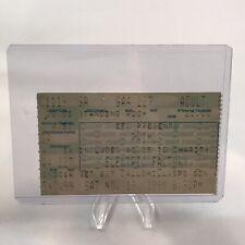 Primus Electric Factory Philadelphia Pa Concert Ticket Stub Vtg November 13 1999