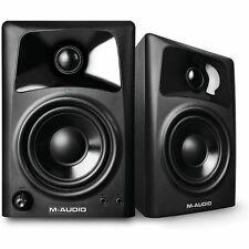M Audio av32 DUE VIE ALTOPARLANTI Desktop di riferimento (COPPIA)