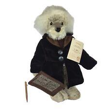 Hermann Mohair Teddy Bear Rare The Brain Growler Germany Einstein