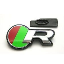 GENUINE JAGUAR 2014 GRILLE R BADGE DECAL AND PLINTH AND SCREW C2D31237, T2R4006