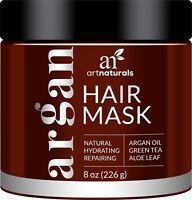 ArtNaturals Argan Oil Hair Mask - Deep Conditioner, 100% Organic Jojoba, Aloe...