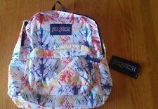 JanSport Superbreak  Tie Dye Backpack Superbreak ultralight. New w/Tags