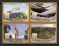 Philippines 2018 MNH General Santos City 4v Block Tourism Landscapes Stamps