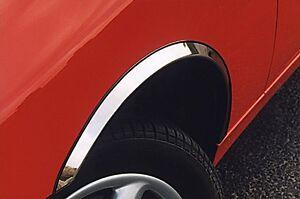 CITROEN BERLINGO II Wheel Arch Trims for Wing&Quater New Set 4pcs CHROME '08-18
