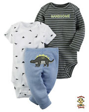 Carter's 3-piece Turn Me Around Set Dinosaur 6mos Authentic & Brand New