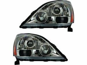 Headlight Assembly Set For 2003-2009 Lexus GX470 2004 2006 2005 2007 2008 D618WR