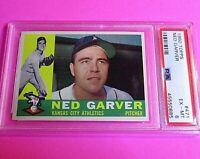 1960 Topps #471 Ned Garver Card - Graded PSA 6 EX-MT (looks much better)