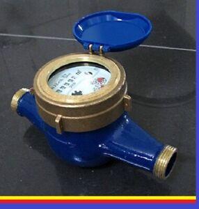 Wasseruhr Hauswasserzähler 3/4 x 190 mm Wasserzähler Q3 = 4 Geeicht 2021